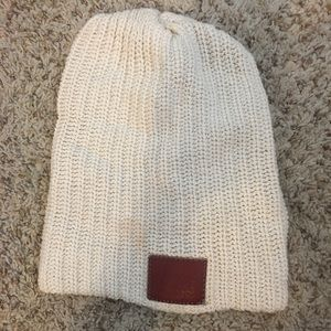 Accessories - Love your melon white beanie